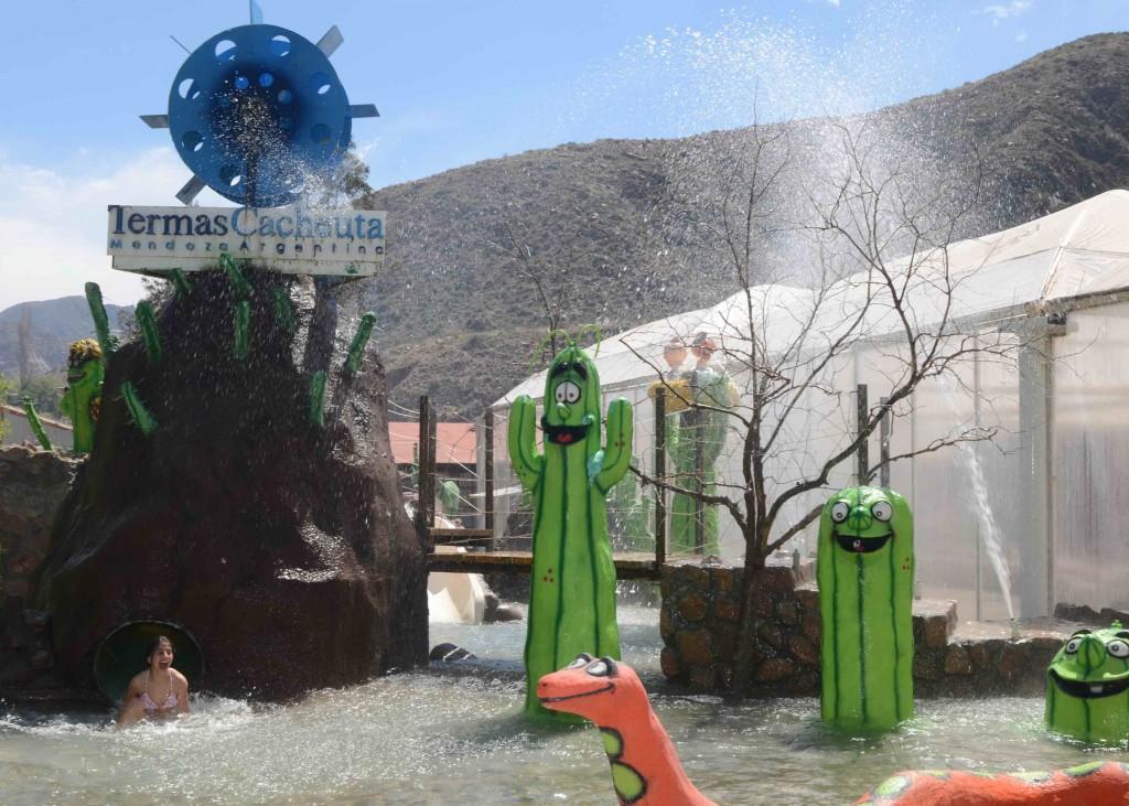 Parque de Agua Termal - Termas Cacheuta