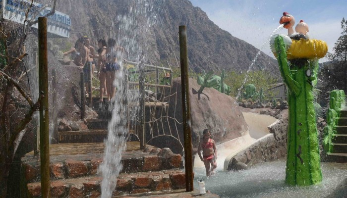 Interactivo para niños - Parque de Agua Termas Cacheuta
