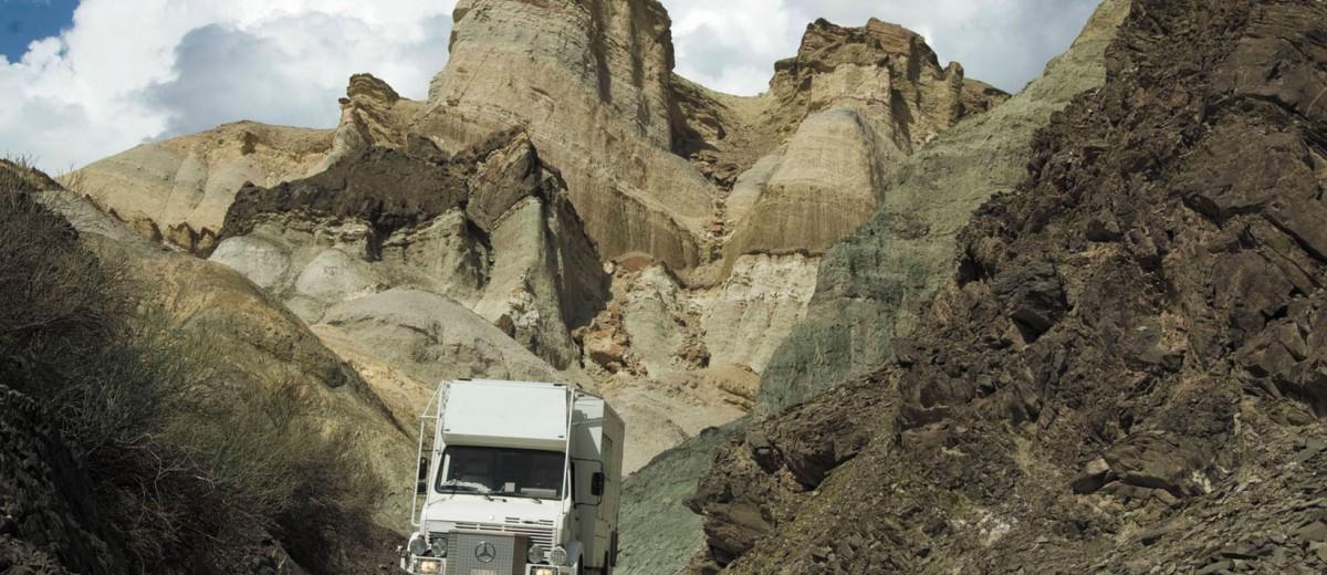 Valles de altura: El Alkazar, Calingasta