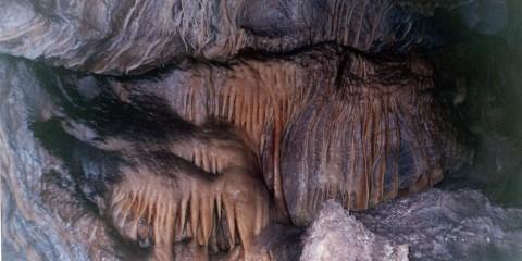 Estalactitas en la Caverna de las Brujas
