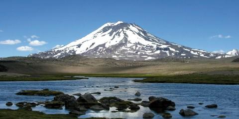 Laguna del Diamante, Volcán Maipo