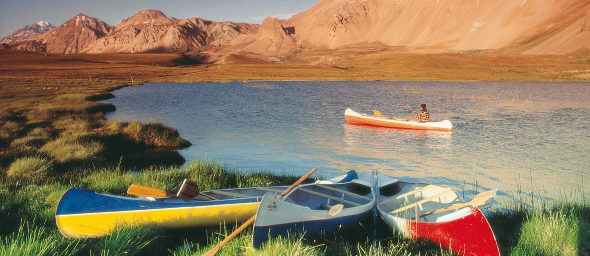 Excursiones en el Valle de Uco: Laguna del Diamante