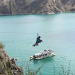 Excursiones de Aventura en San Rafael: Tirobangi en Los Reyunos