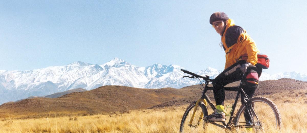 Mountain bike en el Valle de Uco