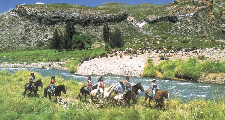 Cabalgatas en Malargüe
