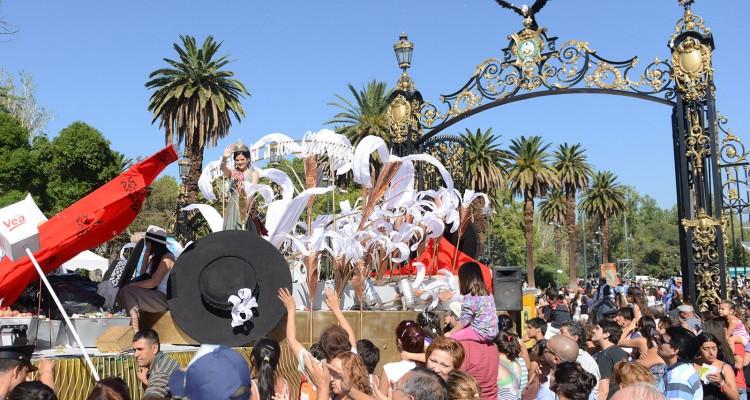 Festejos centrales: Carrusel de Vendimia