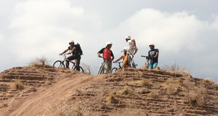 Mountain bike cerros del pedemonte