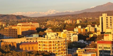Ubicación geográfica de la ciudad de Mendoza