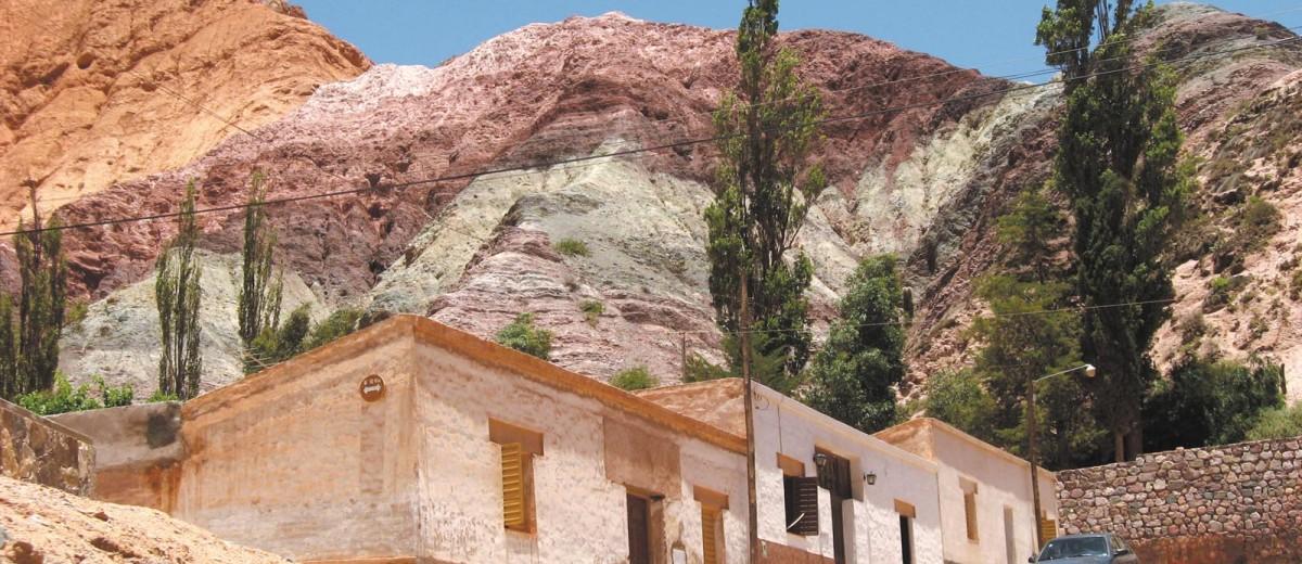 Purmamarca y Cerro Siete Colores