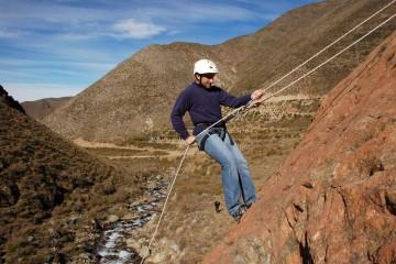 Aventura en Valle de Uco: Rappel en Chorro de la Vieja