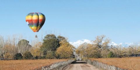 Aerodeportes: sobrevolando viñedos