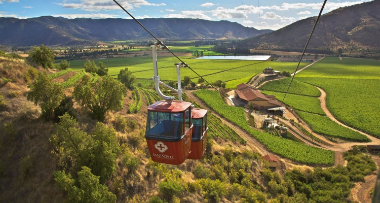 Ruta del Vino: Teleférico de Santa Cruz