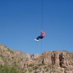 Turismo aventura en San Rafael: Tirolesa en el Cañón del Atuel