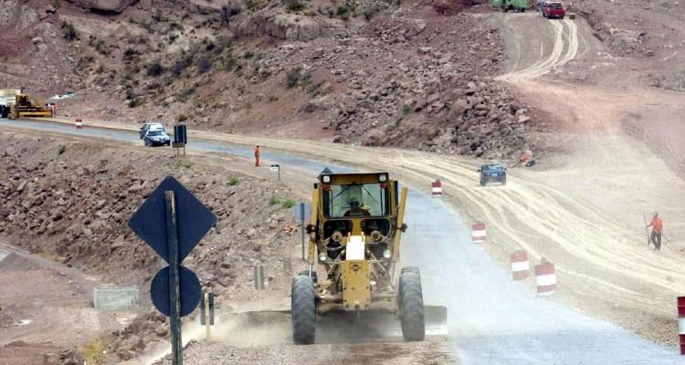 Unión vial entre Potrerillos y Cacheuta
