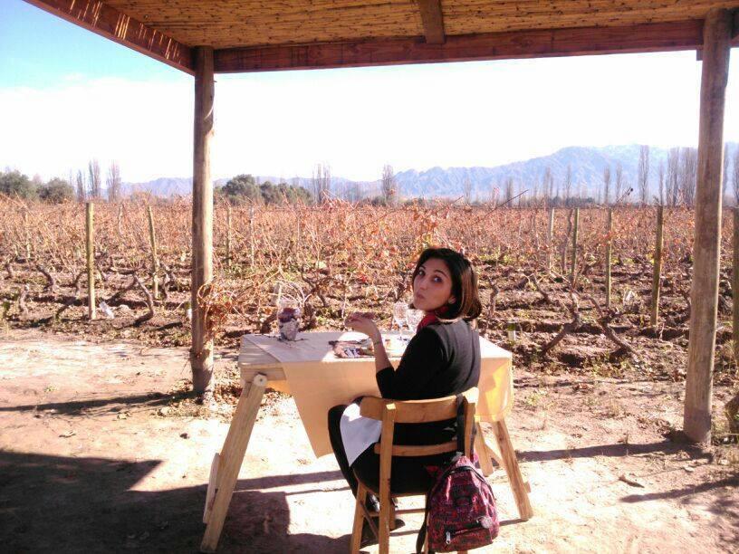 disfrutando el otoño en Mendoza