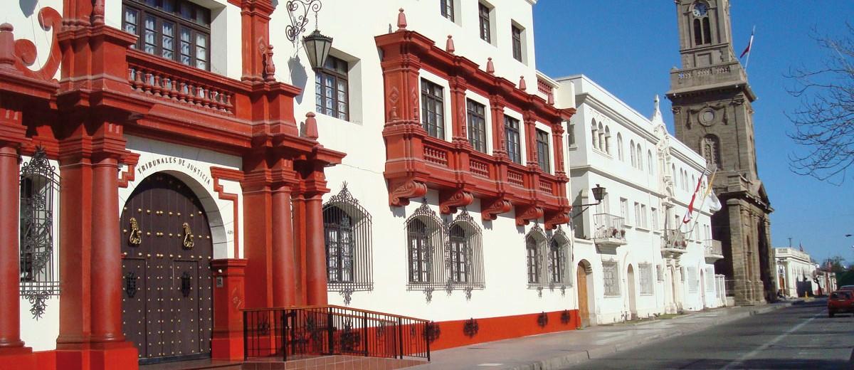 La Serena, casco histórico