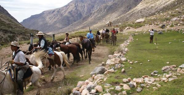 Cabalgata Cordillera Mendocina