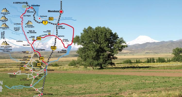 Cartografía Valle de Uco