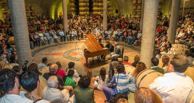 Música clásica por los caminos del vino