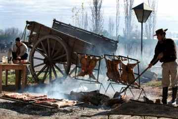 Día de campo en Cabaña Tulumaya