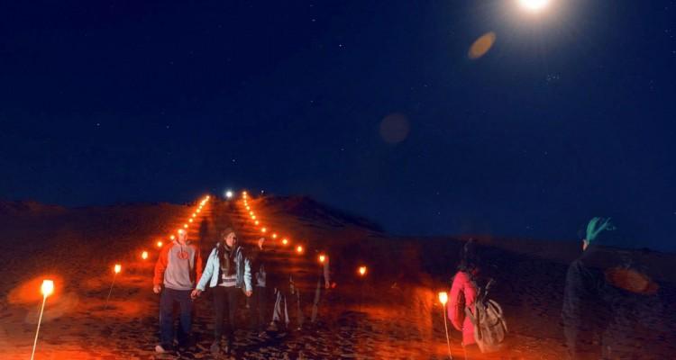 Caminata bajo la luna - Los Altos Limpios