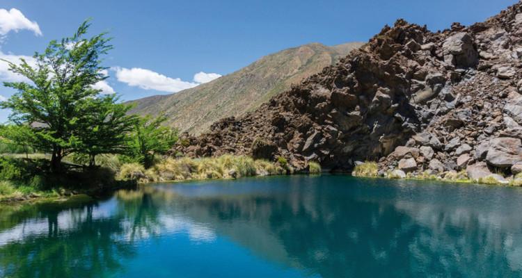 Laguna de la Niña Encantada - Malargüe