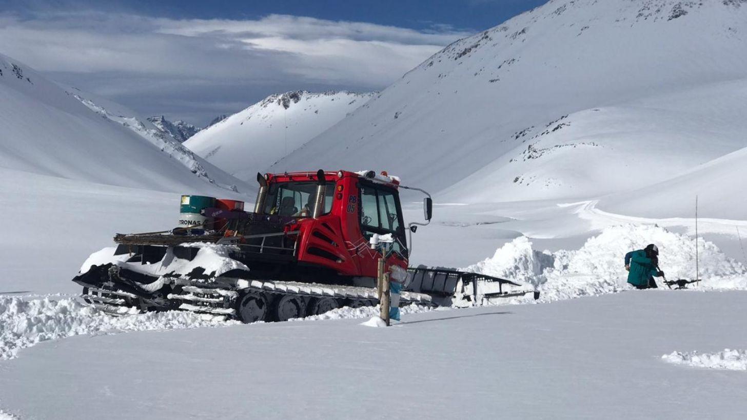 Avances en El Azufre - el paraíso del esquí cada vez más cerca