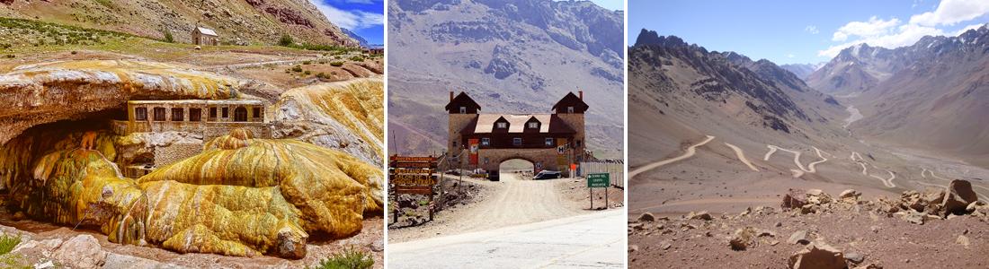 Camino al Cristo Redentor de los Andes