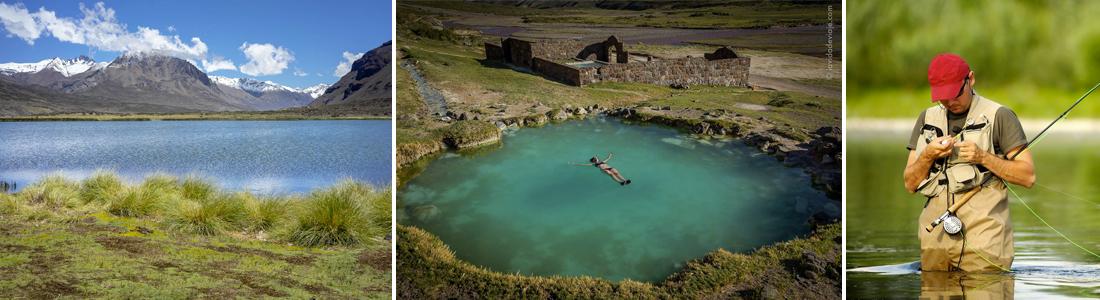 Atractivos de La Laguna del Sosneado