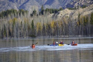 Kayak en Potrerillos