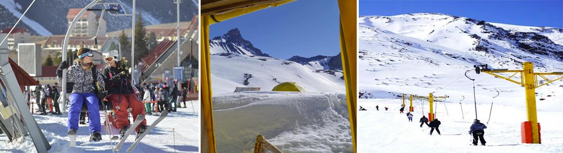 Parques de Nieve en Mendoza