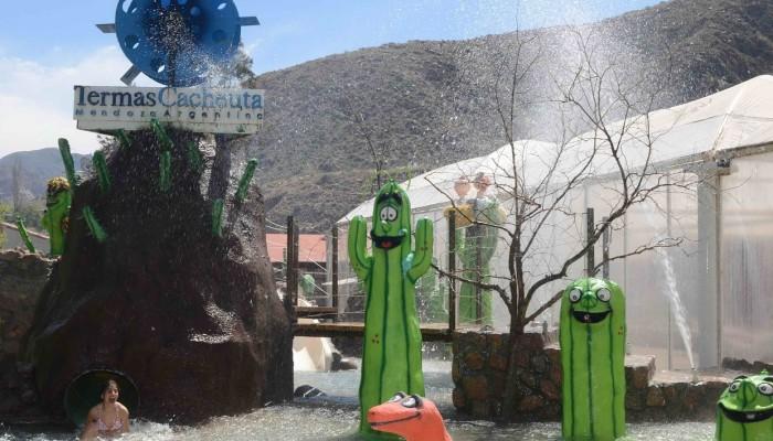 Juego Interactivo para niños - Parque de Agua Termas Cacheuta