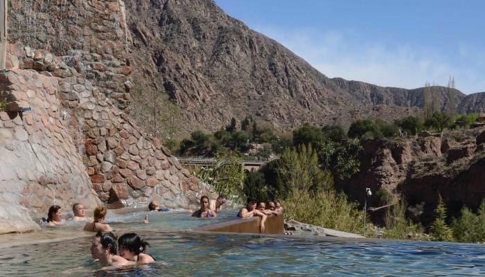 Piscina Panoramica Termal - Parque de Agua Termal Termas Cacheuta
