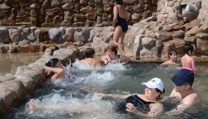 Piscina Mirador - Parque de Agua Termas Cacheuta