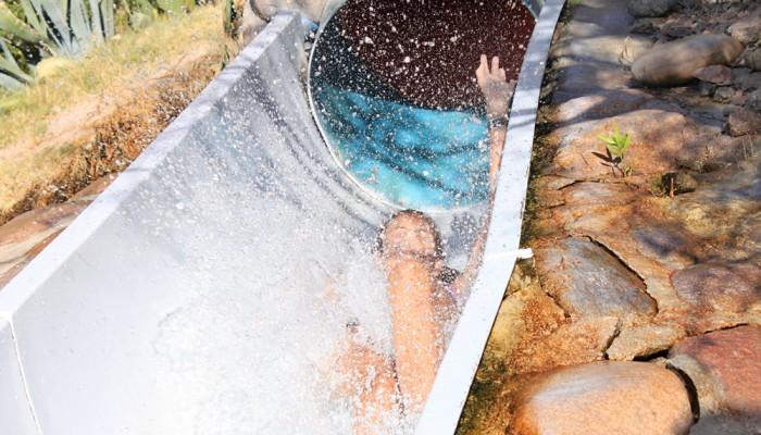 Tobogan niños - Parque de Agua Termas Cacheuta
