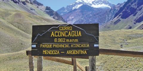 Acceso al Parque Provincial Aconcagua