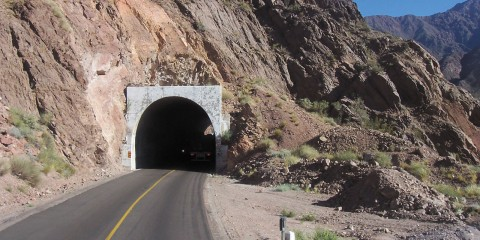 Punta de Vacas: camino de montaña