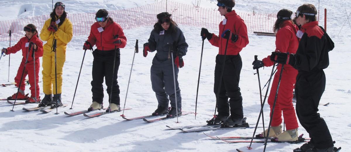 Los Puquios: Escuela de esqui