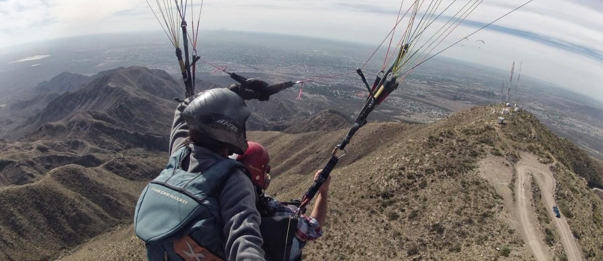 Parapente en Cerro Arco