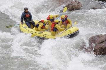 Rafting en el río Mendoza