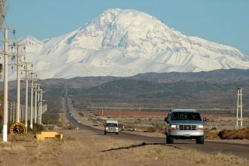 Vista del Volcán Tupungato