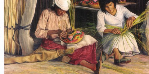 las canasteras huarpes