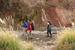 Trekking en Potrerillos
