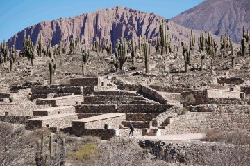 Camino del Inca en Argentina: Pucará de Tilcara