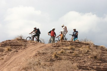 Mountain bike cerros del pedemonte