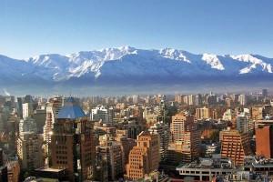 Panorámica de Santiago de Chile
