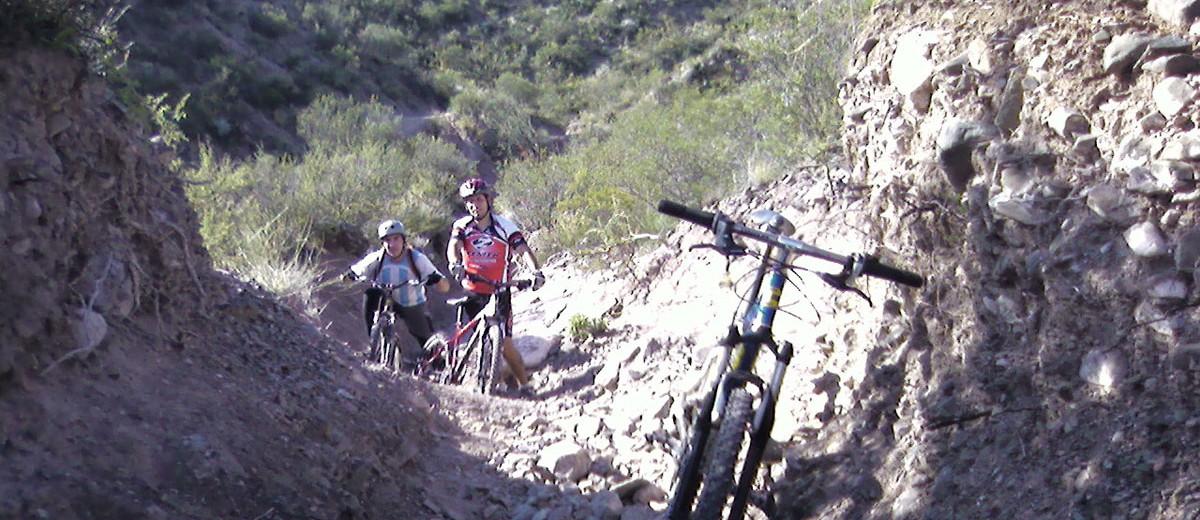 Bike en Reserva Divisadero Largo