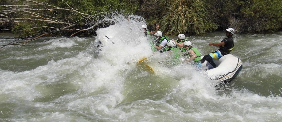 Rafting rapidos y furiosos