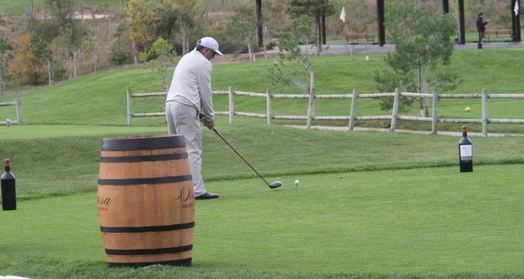 Golf por los caminos del vino