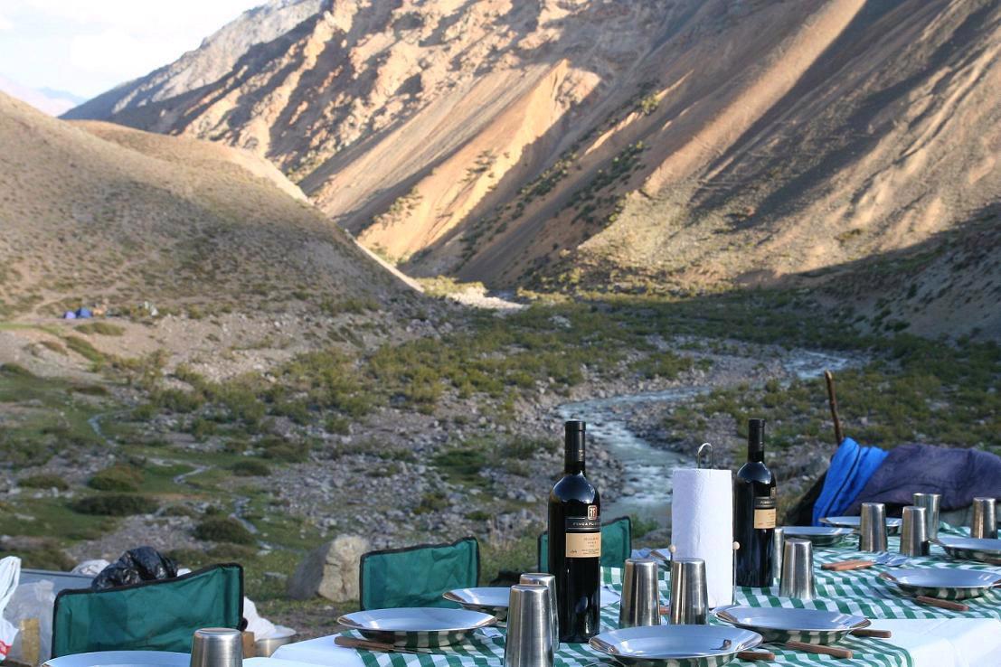 Bivac en el Cruce de los Andes